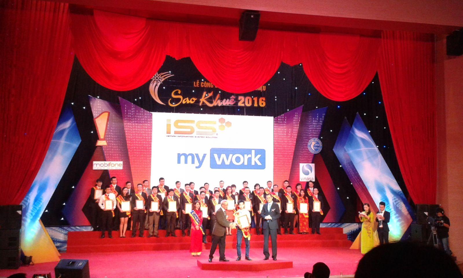 Giải thưởng Sao Khuê 2016